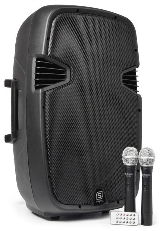 batteridrevet højtaler